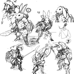 Rabbit_sketches